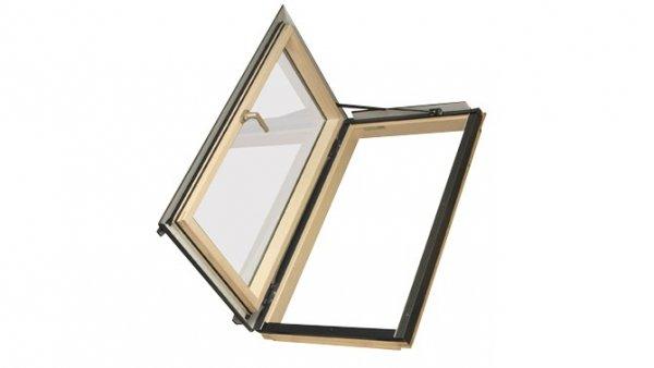 Термоизоляционные распашные мансардные окна FWR U3, FWL U3
