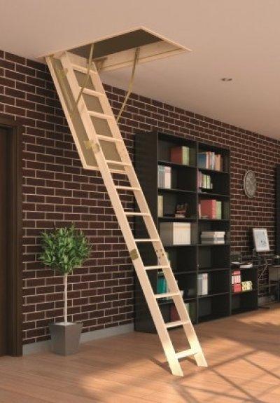 Чердачная лестница Fakro LWS Smart