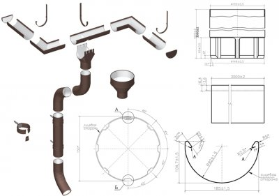 Водосточная система Проект